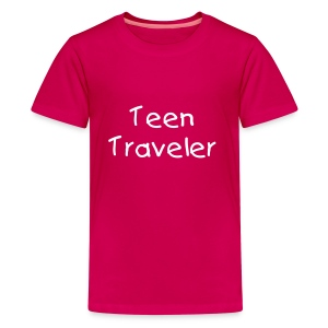 Teen Traveler - Kids' Premium T-Shirt