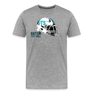 Men's UTS Helmet Premuim T-shirt - Gray - Men's Premium T-Shirt