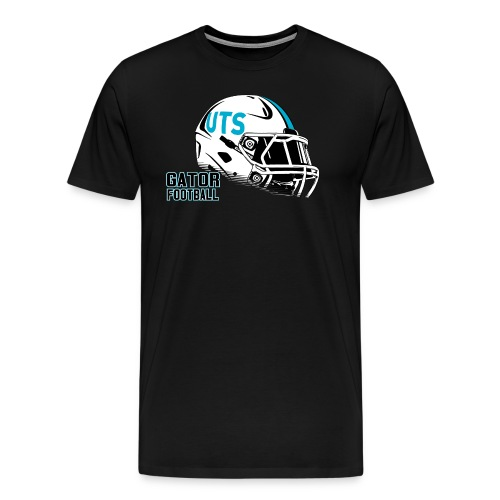 Men's UTS Helmet Premuim T-shirt - Black - Men's Premium T-Shirt