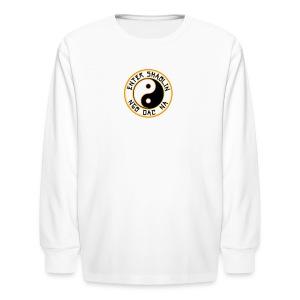 Enter Shaolin Kids Long Sleeve T-Shirt in White (Front Logo) - Kids' Long Sleeve T-Shirt