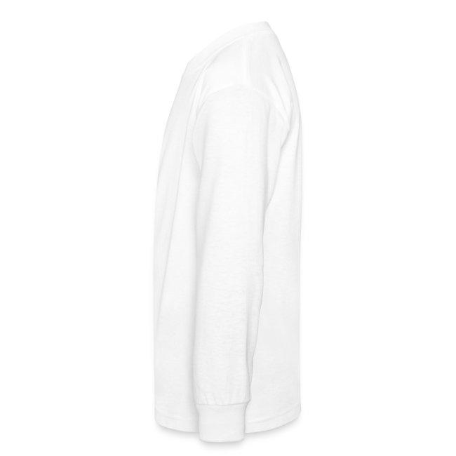 Enter Shaolin Kids Long Sleeve T-Shirt in White (Front Logo)
