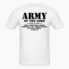 Army Of The Lord (2 Timothy 2:3) T-Shirts
