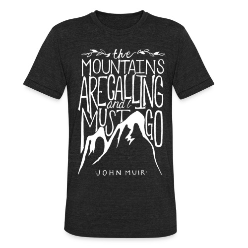 Unisex John Muir Tri-Blend Tee (Men's Sizing) - Unisex Tri-Blend T-Shirt