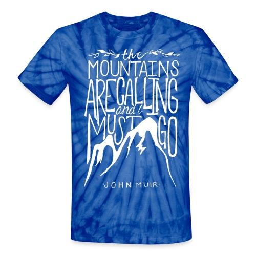 Unisex John Muir Tie Dye Tee - Unisex Tie Dye T-Shirt