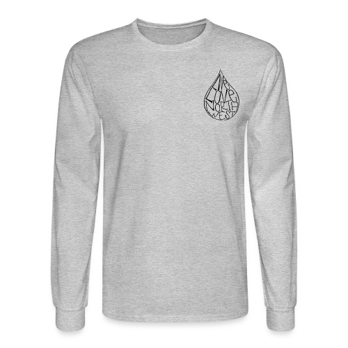 Unisex Drizzy Drop Long Sleeve (Men's Sizing) - Men's Long Sleeve T-Shirt