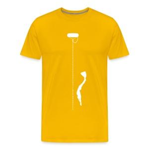 Dive Down T-Shirt - Men's Premium T-Shirt