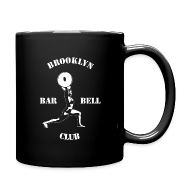 Mugs & Drinkware ~ Full Color Mug ~ Brooklyn Barbell Club Mug For Righties