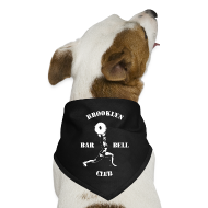 Other ~ Dog Bandana ~ Brooklyn Barbell Club Dog Bandana
