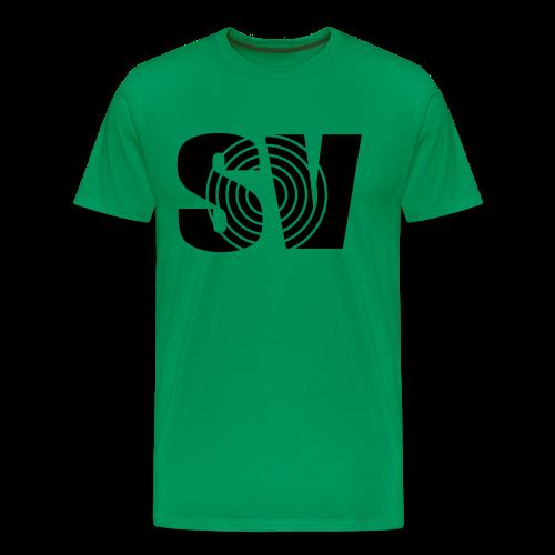 SpintwistVideos SV logo Tee - Men's Premium T-Shirt