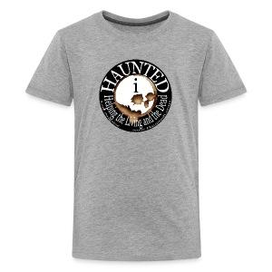 Hauntedi Skull Logo Shirt (premium) for kids - Kids' Premium T-Shirt