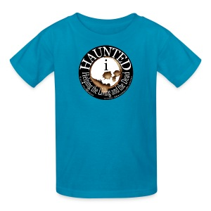 Hauntedi Skull Logo Shirt for kids - Kids' T-Shirt