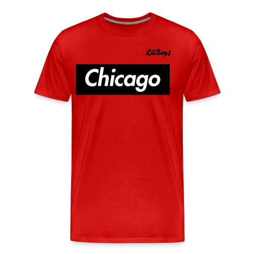 LitBoys Chicago Movement Tee - Men's Premium T-Shirt