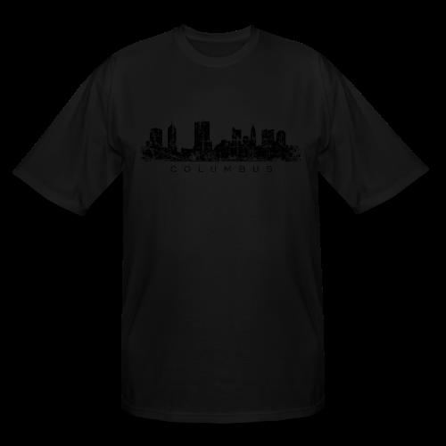 Columbus Skyline Tall T-Shirt - Men's Tall T-Shirt