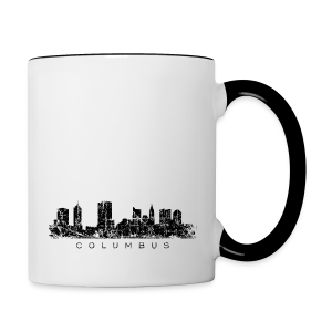 Columbus Skyline Mug - Contrast Coffee Mug