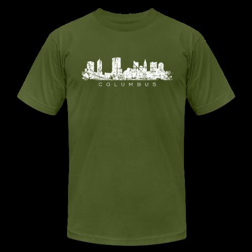 Columbus Skyline Men's T-Shirt - Men's  Jersey T-Shirt