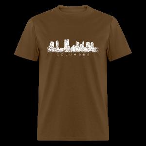 Columbus Skyline Men's T-Shirt - Men's T-Shirt