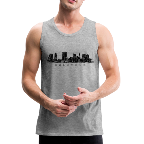 Columbus Skyline Tank Top - Men's Premium Tank