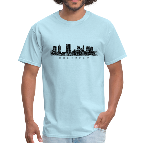 Columbus, Ohio Skyline Vintage Black