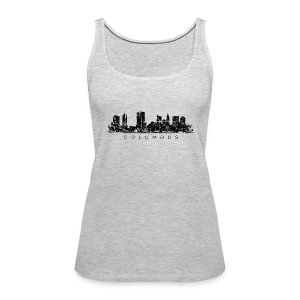 Columbus Skyline Tank Top - Women's Premium Tank Top