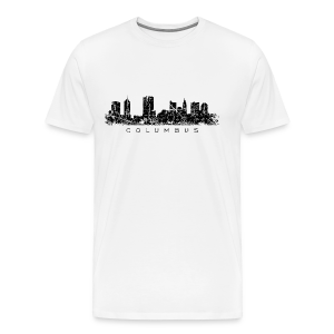 Columbus, Ohio Skyline Vintage Black