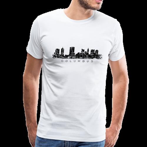 Columbus Skyline Men's T-Shirt - Men's Premium T-Shirt