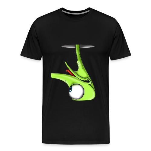 Funny Green Ostrich T-shirt - Men's Premium T-Shirt