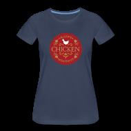 Women's T-Shirts ~ Women's Premium T-Shirt ~ Happy chicken holidays