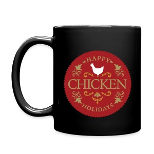Happy chicken holidays - Full Color Mug