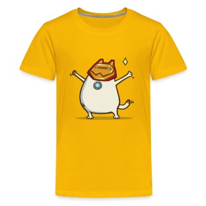Ironcat — Friday Cat №32 - Kids' Premium T-Shirt