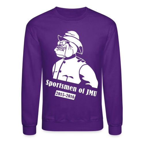 Crewneck (Purple) - Crewneck Sweatshirt