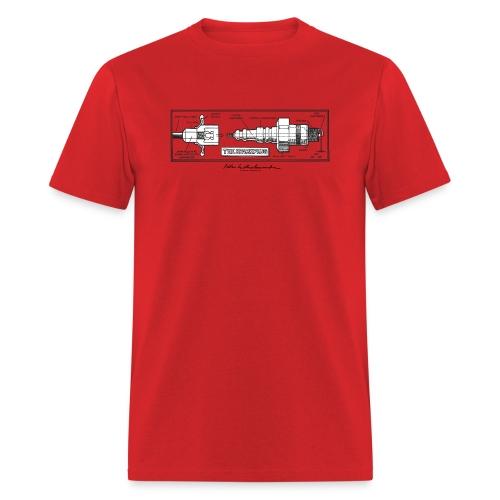 Peter Aschwanden Spark Plug - Men's T-Shirt