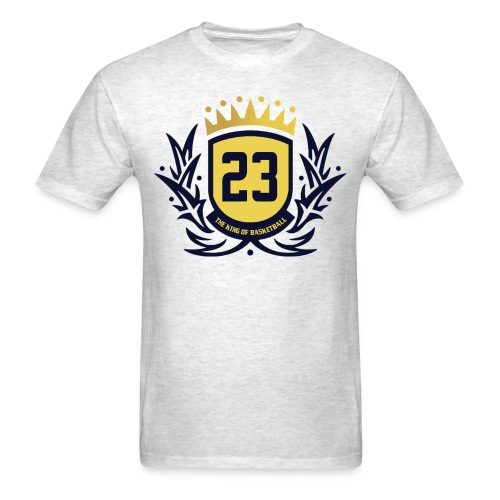 The King Of Basketball - Blue - Men's T-Shirt
