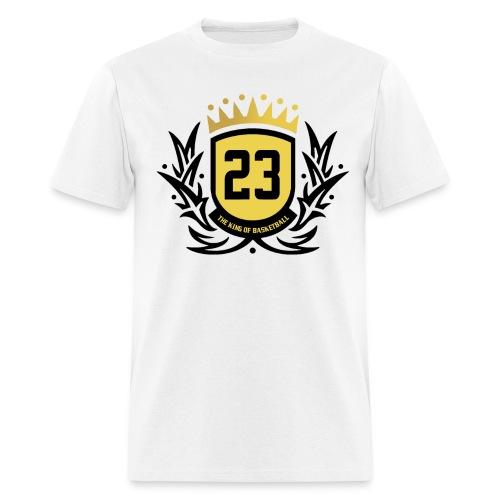 The King Of Basketball - Black - Men's T-Shirt