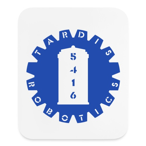 TaRDIS Mousepad - Blue - Mouse pad Vertical