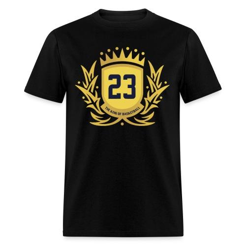 The King Of Basketball - Gold - Men's T-Shirt