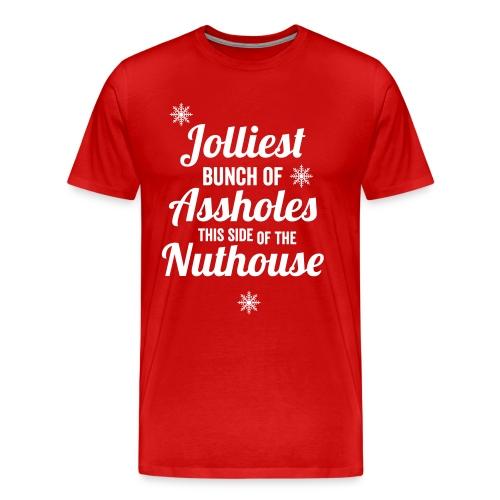 Jolliest Bunch of Assholes Men's - Men's Premium T-Shirt