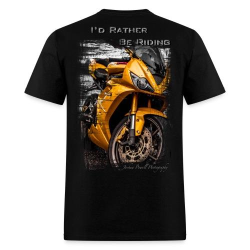 Daytona Triumph T-Shirt I'd Rather Be Riding T-Shirts - Men's T-Shirt