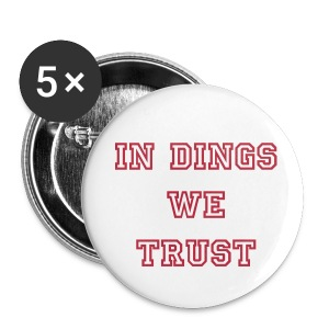 5 Pack Dings Support Buttons - Large Buttons