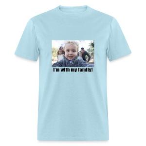 With my Family Men's T-SHirt - Men's T-Shirt