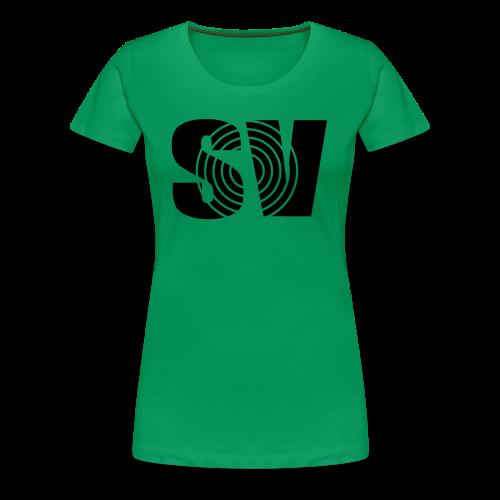 SpintwistVideos SV logo Women's Tee  - Women's Premium T-Shirt
