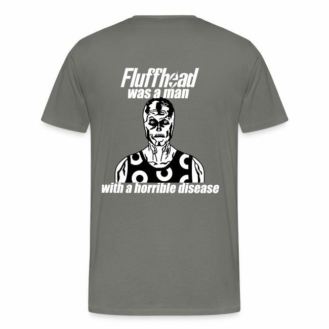 Fluffhead Men's T-shirt (premium) (glow-in-the-dark front)