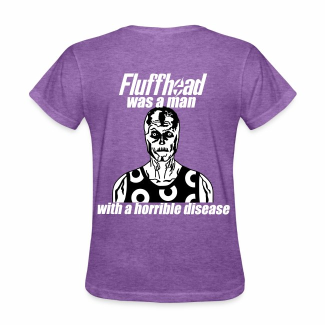 Fluffhead Ladies' T-shirt (glow-in-the-dark front)