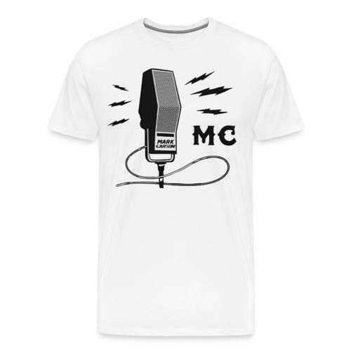 Mark Carson T-Shirt *OG* *WHITE* - Men's Premium T-Shirt