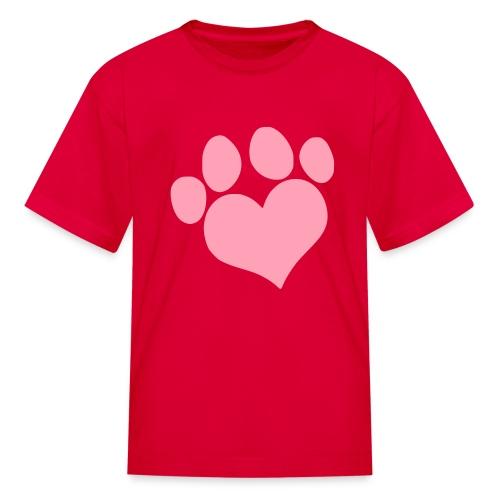 Bubblegum Paw Shirt - Kids' T-Shirt