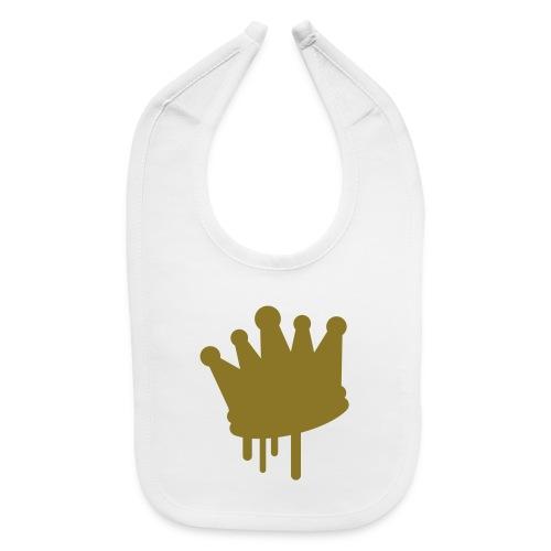 Royal Gold Baby Bib - Baby Bib