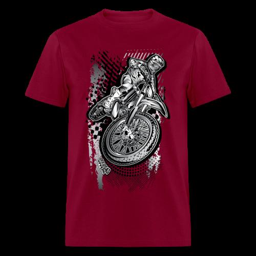 Extreme Dirt Biker - Men's T-Shirt