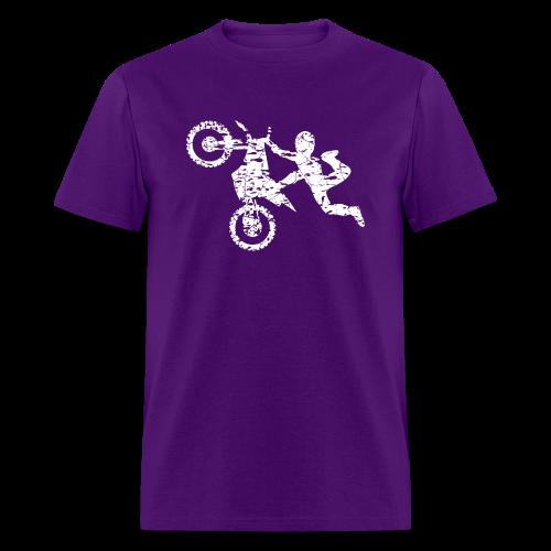 Freestyle Dirt Biker - Men's T-Shirt