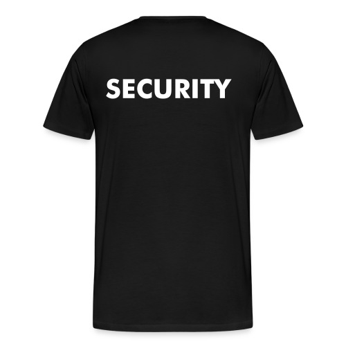 Temple Security (Plus Size) - Men's Premium T-Shirt