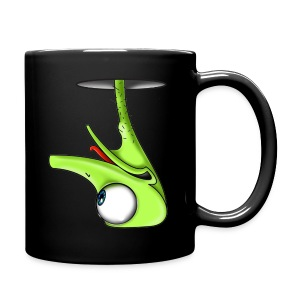 Funny Green Ostrich T-shirt - Full Color Mug