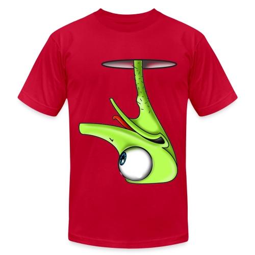 Funny Green Ostrich T-shirt - Men's Fine Jersey T-Shirt
